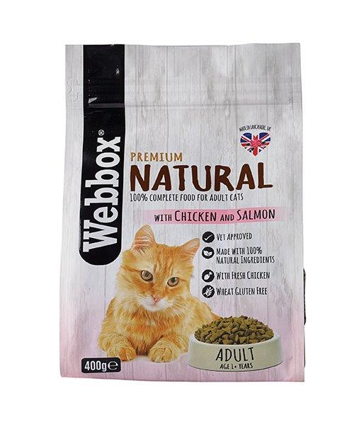 Webbox Cat Natural Adult Chicken & Salmon 400g