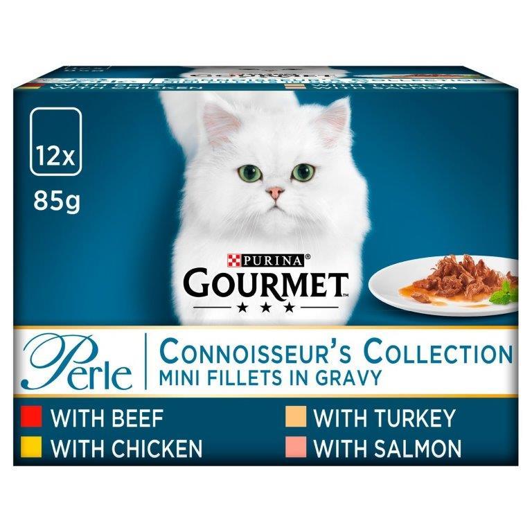 Gourmet Perle Connoisseur's Mixed 12pk (12 x 85g)