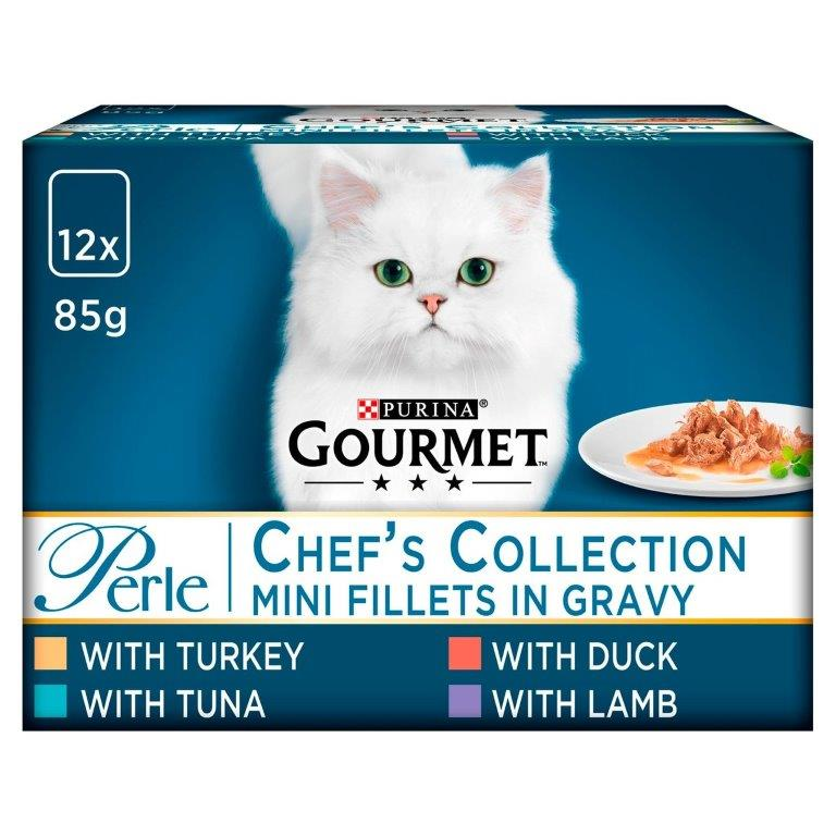 Gourmet Perle Chef's Collection Mixed 12pk (12 x 85g)
