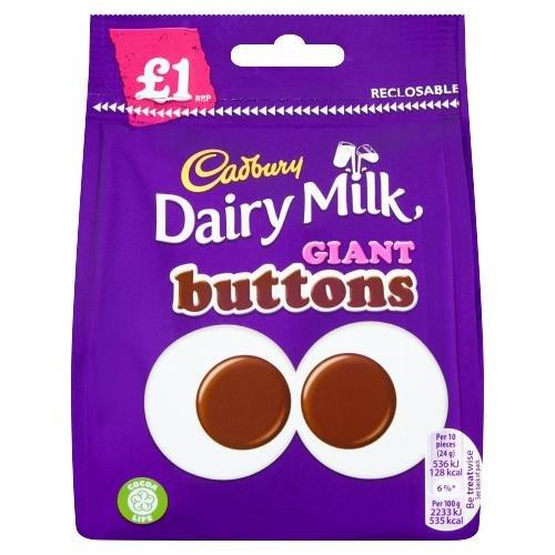 Cadbury Bag Giant Buttons 95g PM £1