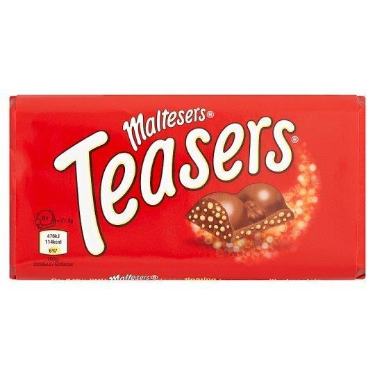 Maltesers Teasers Block 100g