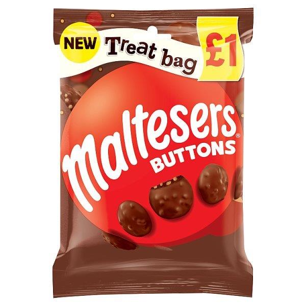 Maltesers Buttons Treat Bag 68g PM £1