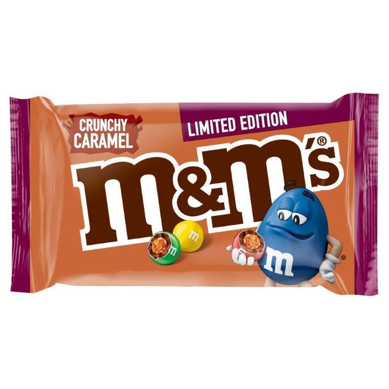 M&M's Std Bag Crunchy Caramel 36g