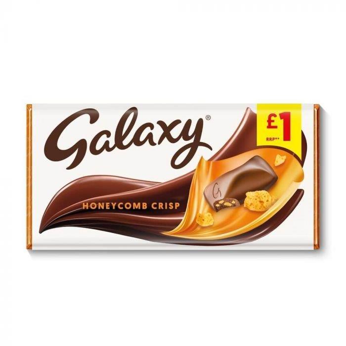 Galaxy Block Honeycomb 114g PM £1