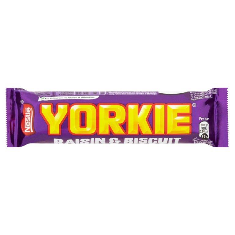 Yorkie Raisin & Biscuit Std 44g