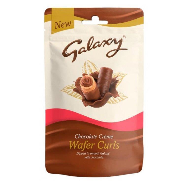 Galaxy Wafer Curls Chocolate Cr