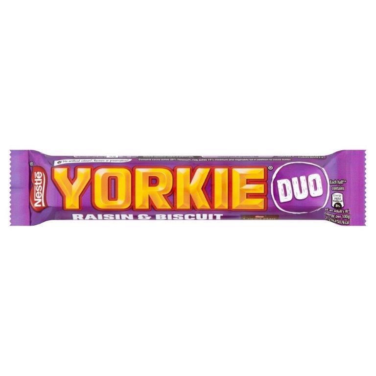 Yorkie Raisin & Biscuit Duo 66g