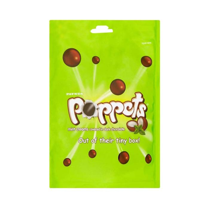 Poppets Mint Cream Pouch 150g