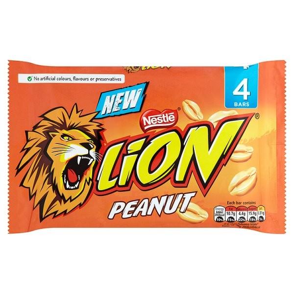 Lion Peanut 4pk (4 x 41g)