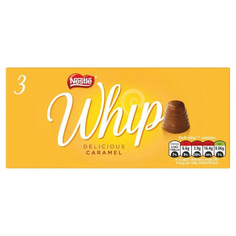 Nestle Whip Caramel 3pk (3 x 27.8g)