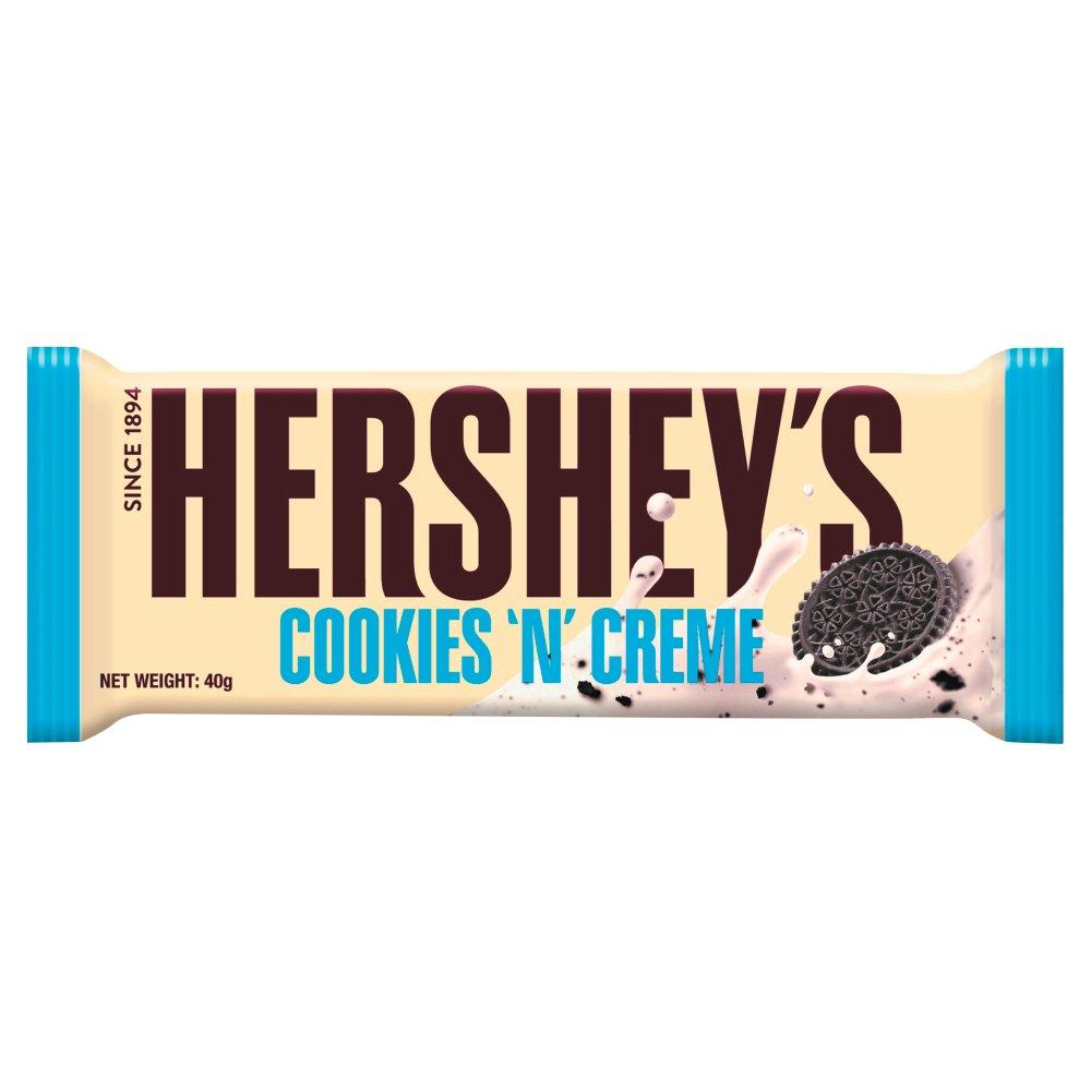 Hershey's Bar Cookies n Creme 40g