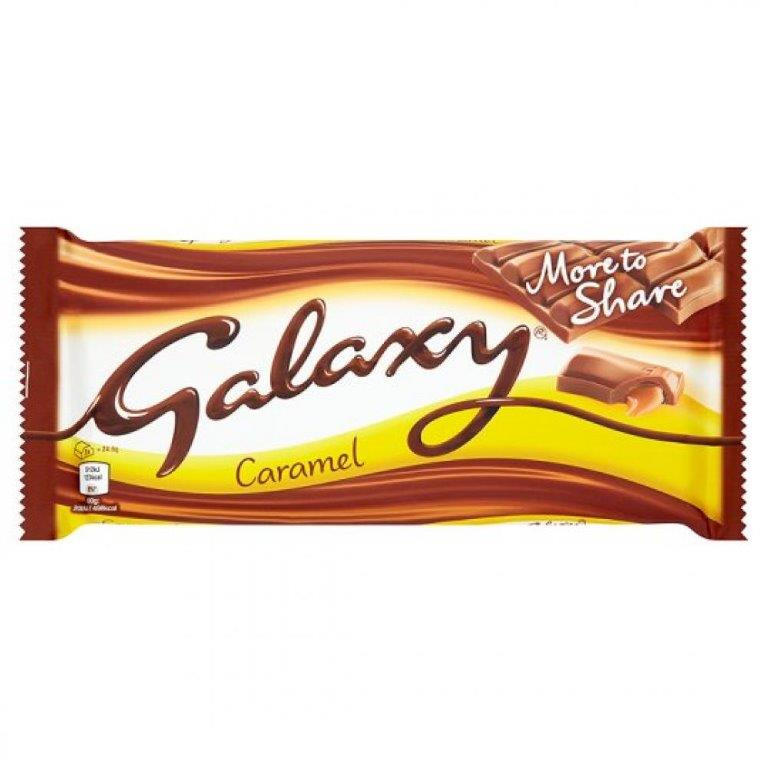 Galaxy Smooth Caramel More To Share Block 204g