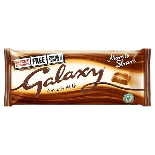 Galaxy Smooth Milk More To Share Block 200g