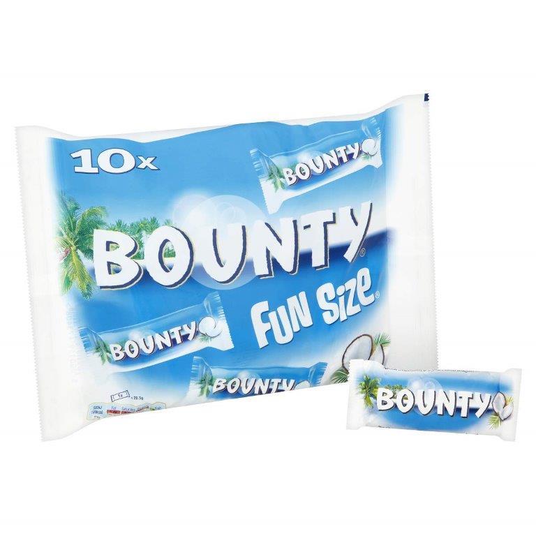 Bounty Fun Size Minis (10 x 30.3g)