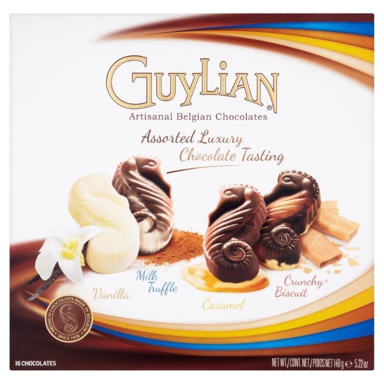 Guylian Assorted Luxury Chocolate Seahorse Selection 154g