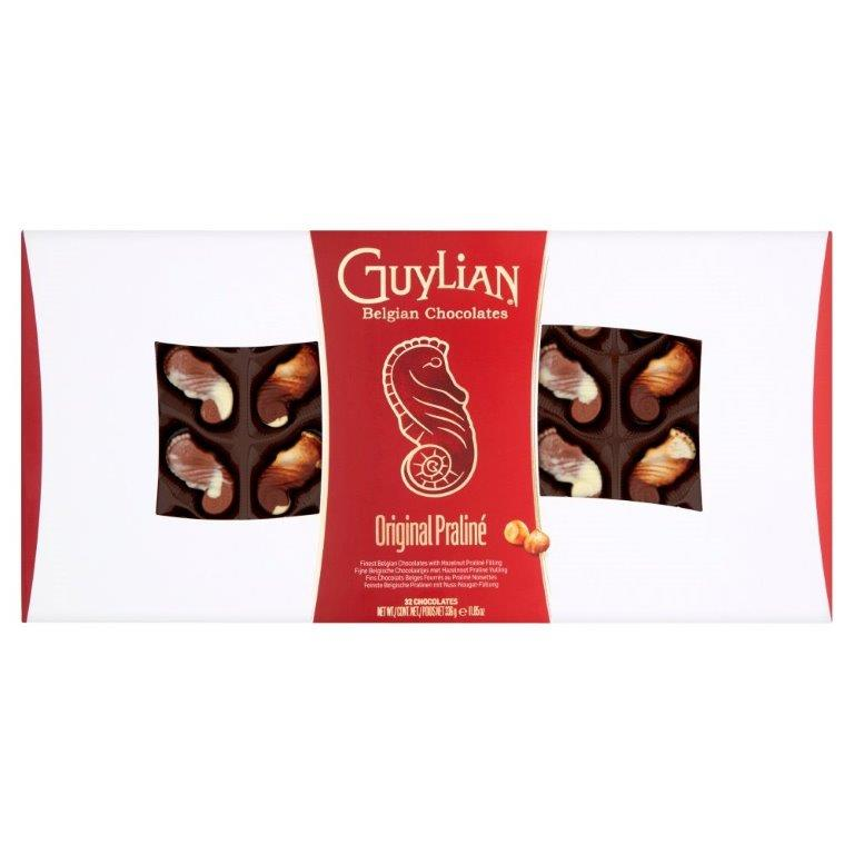 Guylian Praline Filled Chocolate Sea Horses 336g