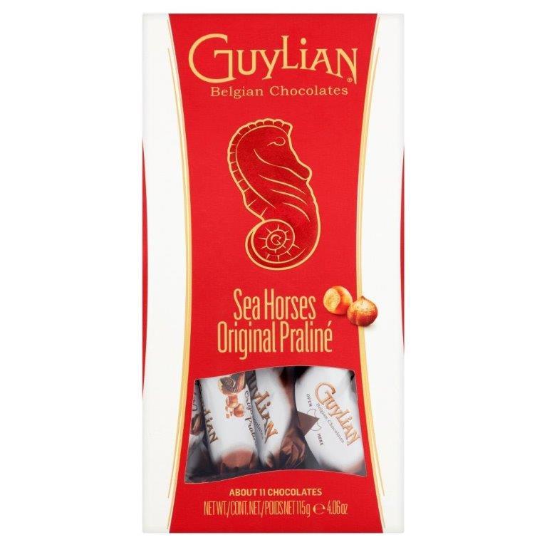 Guylian Temptations Twist Wrapped Original Praline Seahorses 115g