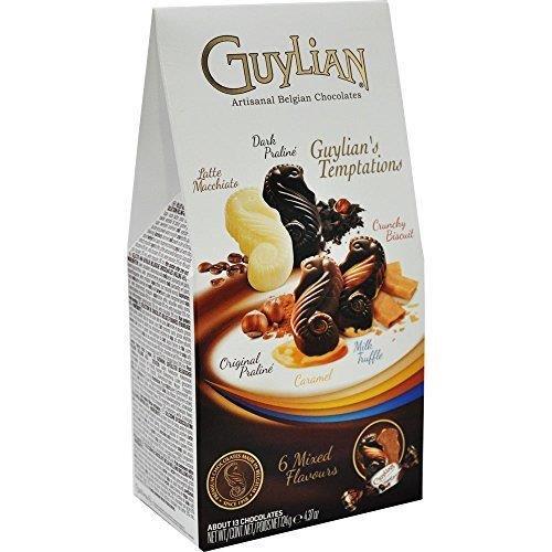 Guylian Temptations Twist Wrapped 6 Flavours Selection Box 124g