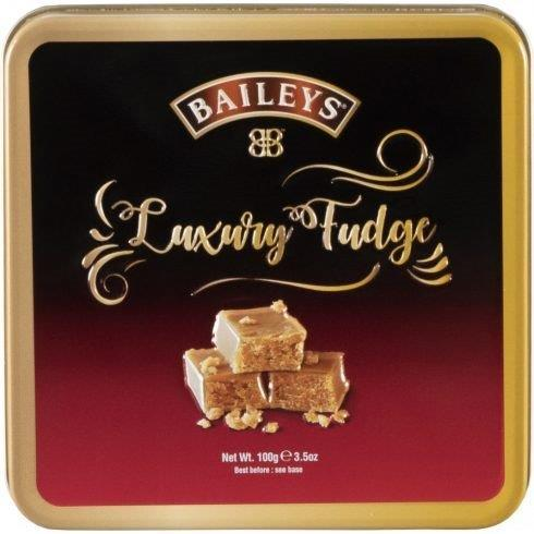 Baileys Luxury Fudge In Tin 100g (Contains Alcohol)