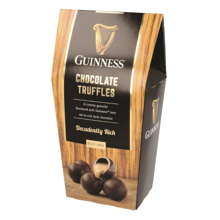 Guinness Twist Wrapped Dark Truffles In Carton 135g (Contains Alcohol)