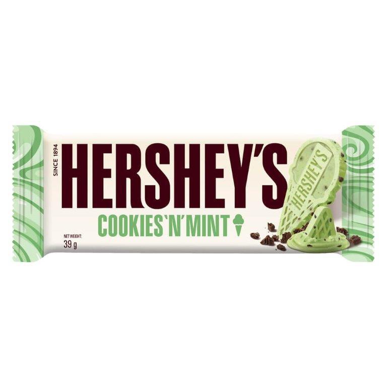 Hershey's Bar Cookies n Mint 39g