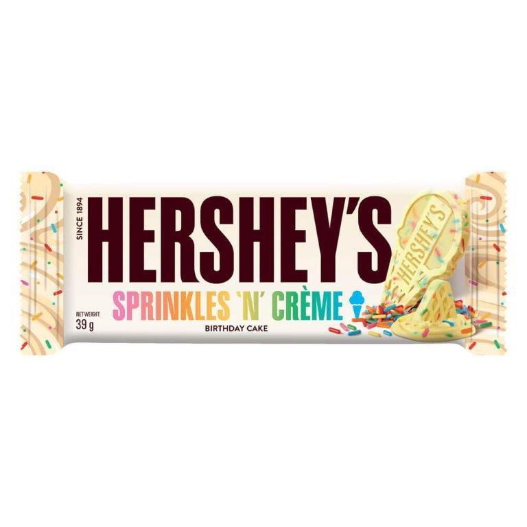 Hershey's Bar Sprinkles n Creme 39g