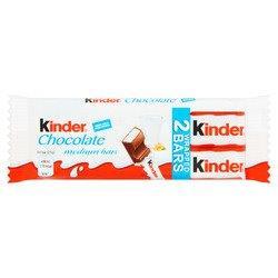 Kinder Chocolate Bar 2pk T2 (2 x 21g)