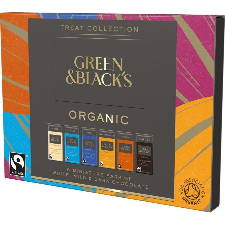Green & Blacks Organic 6pk (6 x 15g)