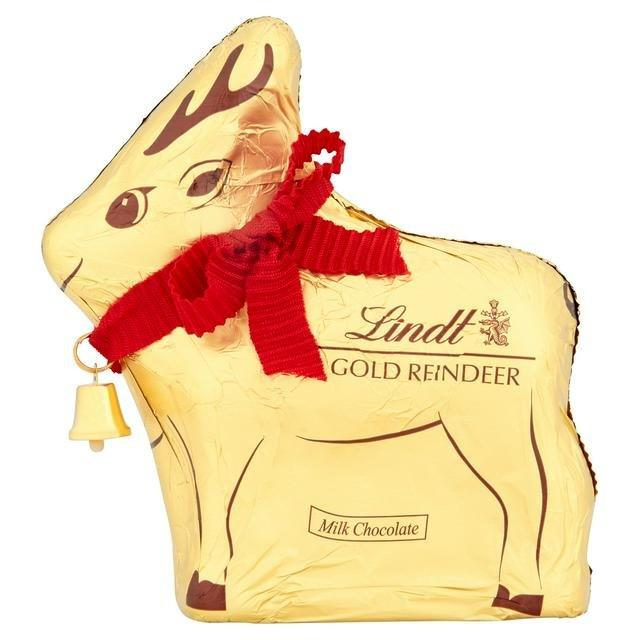 Lindt Gold Reindeer 100g