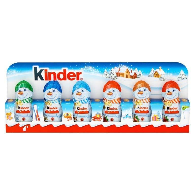 Kinder Chocolate Mini Figures 6pk (6 x 15g)