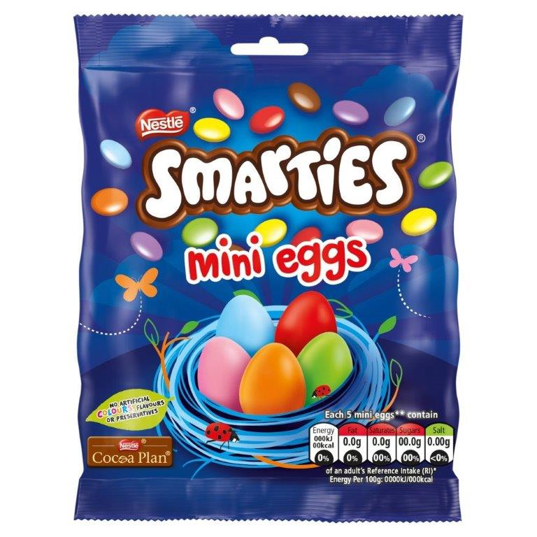 Smarties Mini Eggs Bag 80g