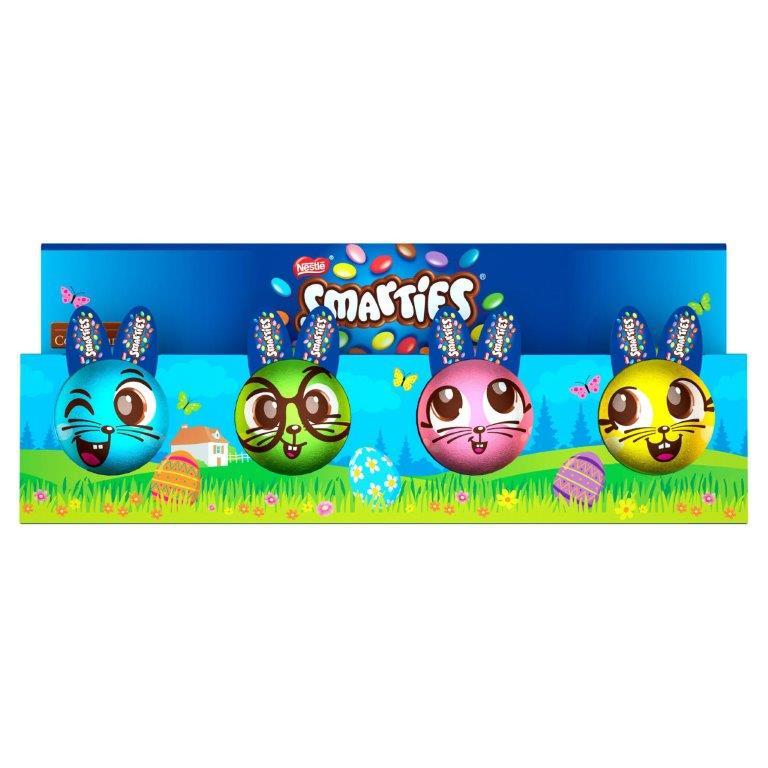 Smarties Bunny 4pk (4 x 18.5g)