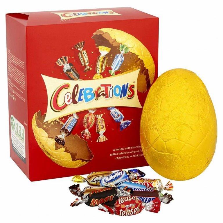Celebrations Large Egg 248g