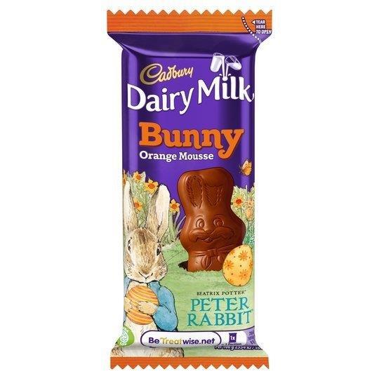 Cadbury Dairy Milk Mousse Bunny Orange 30g