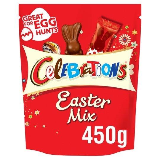 Celebrations Large Sharing Easter Pouch 400g