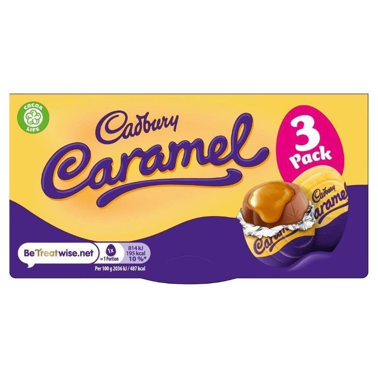 Cadbury Caramel Egg 3pk (3 x 40g)