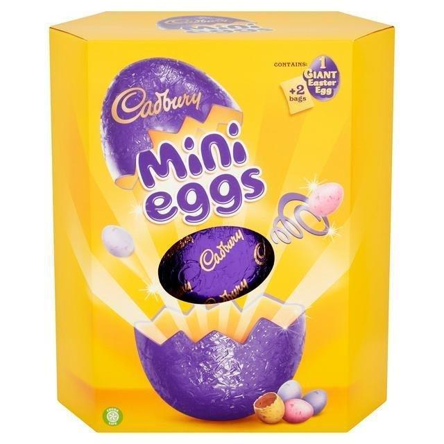 Cadbury Mini Eggs Giant Egg 475g