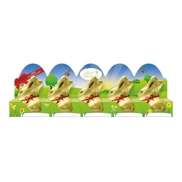 Lindt Gold Bunny Milk 5pk (5 x 10g)