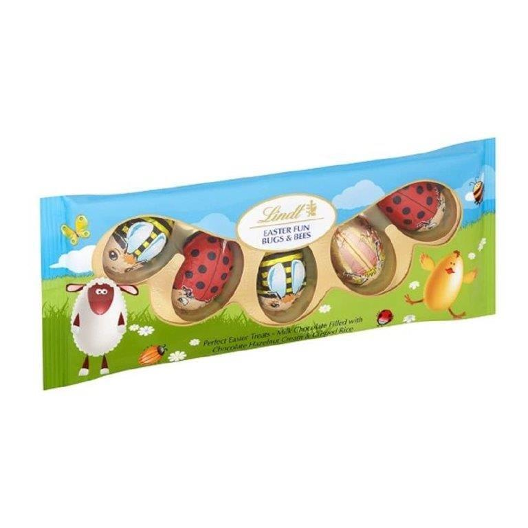 Lindt Bugs And Bees 5pk (5 x 10g)