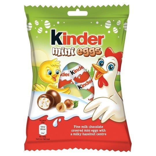 Kinder Mini Eggs Bag 75g