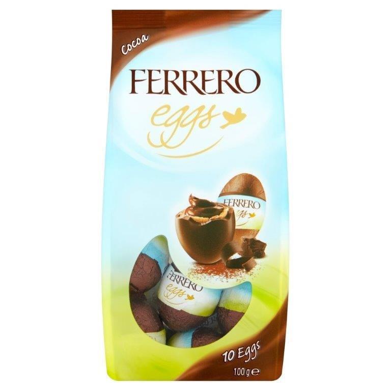 Ferrero Easter Mini Eggs Cocoa Bag T10 100g