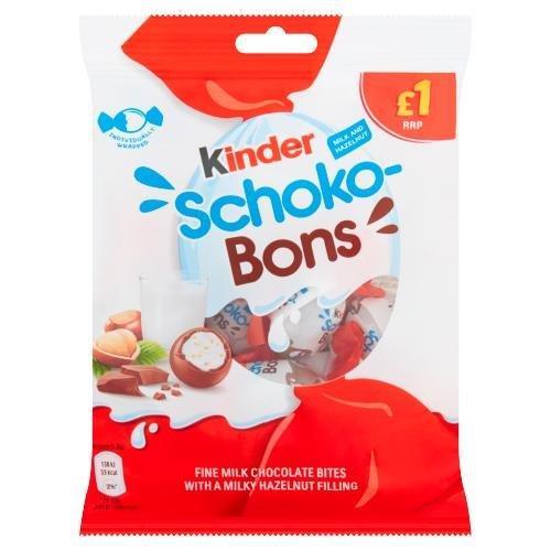 Kinder Schoko-Bons 70g PM £1