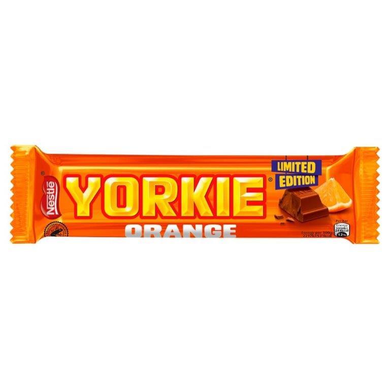 Yorkie Orange Std 46g NEW