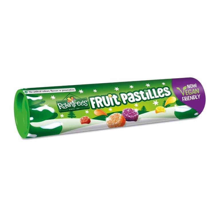 Rowntrees Fruit Pastilles Giant Tube 115g (Vegan)