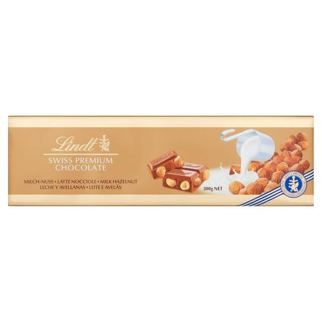 Lindt Gold Bar Hazelnut 300g