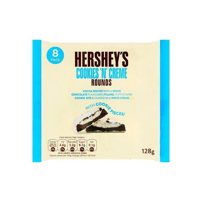 Hershey's Cookies 'n' Creme 8pk (8 x 16g)