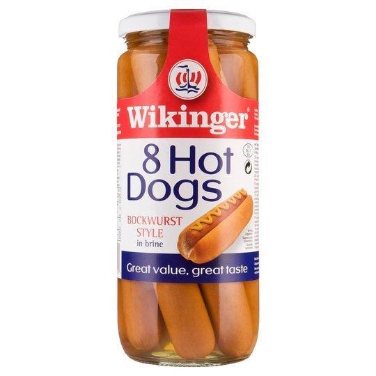 Wikinger Hot Dogs 8's 360g