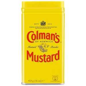 Colman's English Mustard Powder Tin 454g