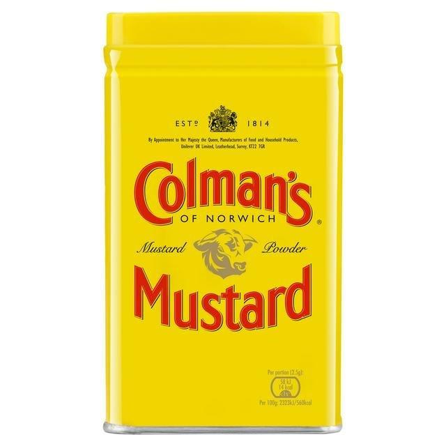 Colman's English Mustard Powder Tin 57g