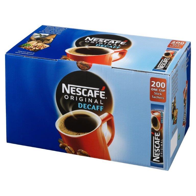 Nescafe Original Stick Pack Decaf 200's